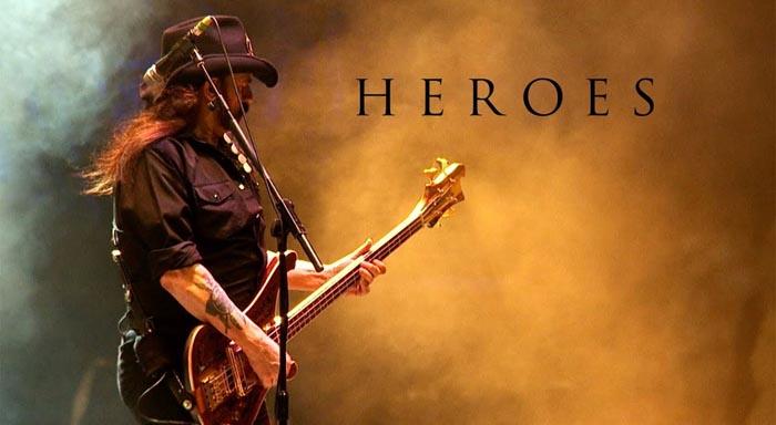 heroes david bowie motorhead