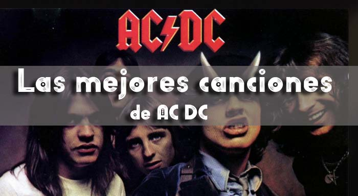 mejores canciones ACDC