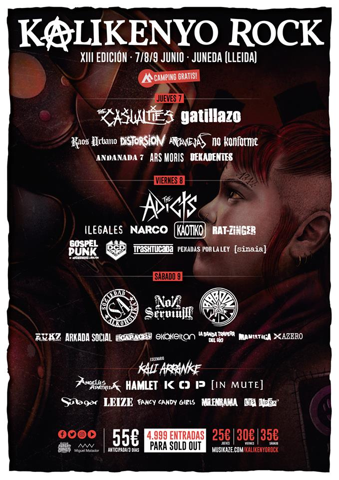 cartel kalikenyo rock 2018